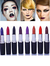 24 Colors Sexy Beauty Matte Lipstick Makeup Cosmetic Waterproof Lip Gloss Lot XG