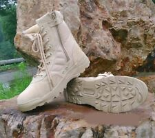 Hot Mens Punk Special Forces SWAT Tactical Military Combat Army Boots US7-11 Sz