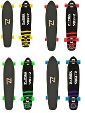 "Z-Flex 9.25"" x 38"" Kicktail Longboard Complete Multiple Colors"