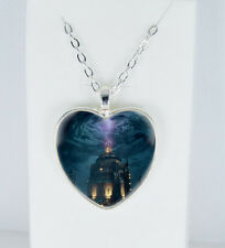 Mystery Tardis Doctor Who jewelry friendship necklace Christmas gift pendant