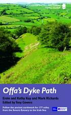 Offa's Dyke Path by Tony Gowers Paperback Book