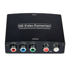 Component YPbPr+S/PDIF Coaxial Digital Audio in to HDMI Converter Upscaler 1080p