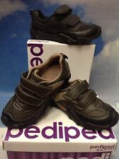Pediped Flex Highlander Leather Uniform Shoe Size 24-36 / US Kid Size 8 to 4