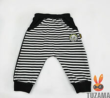 Boy Crop Pants Harem Style Striped Casual Jogging Sport Loose Trousers 4-14 Year