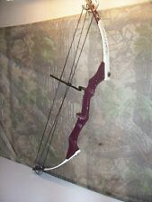 """HIGH COUNTRY TOP GUN COMPETITION HUNTING ARCHERY BOW RH 60-70# 30""""NO RESERVE"""