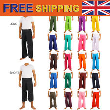 21 Colors Thai Fisherman Pants Toray Rayon Yoga Trousers Freesize Long or Short