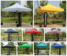 10'X10' EZ POP UP Wedding Party Tent Folding Gazebo Beach Canopy W/ Wheeled Bag