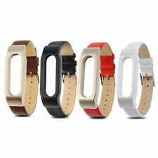 New Design Leather Bracelet Replacement for XIAOMI MI BAND Wrist Strap Smartband