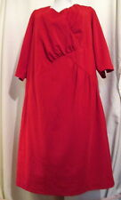 NEW DIRECTIONS Red fancy event dress Plus sizes *FREE SHIPPING* NEW 3/4 sleeves