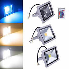 10W 20W 30W 50W LED Landscape Flood Light Spotlight Lamp Garden Outdoor Lighting