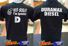 Duramax Funny T-shirt Diesel Truck Power Turbo Front & Back