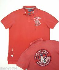 Men's Ralph Lauren CUSTOM FIT Southwest Indian Camp Trail Guide Rugby Polo Shirt