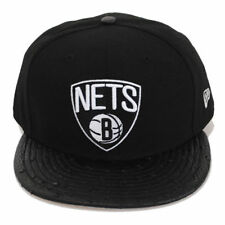New Era 59fifty Brooklyn Nets Reptile Mix Black Fitted Flat Peak Hat Cap