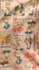 """SAILOR MOON S 4x6"""" fabric squares! 9 Characters to pick! Inner and Outer Senshi!"""