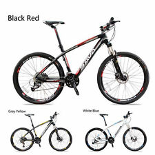 SAVA 26 inch MTB Mountain Bike 30 Speed Carbon Fiber Bicycle -Madrid 3 Colors