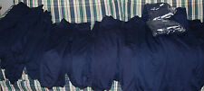 NEW (SHELF PULLS) ALLESON 605PY YOUTH BASEBALL PANTS NAVY BELTLOOP/BUTTON UP