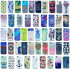 Housse étui coque motif divers case cover TPU silicone iPhone 4 4S 5 5S 6 6Plus