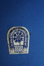 WW2 German (WHW) Winter Help Social Welfare Metal Tinnie w/ Pin