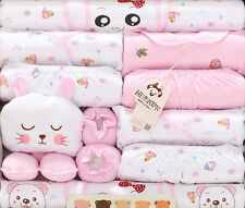18pcs/Set Newborn Baby Clothes Girls Boys Clothing set Cute infant Clothes suit