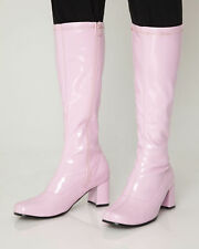 Pink Knee High & Platform Boots - Fashion Boots - Pink Patent Boots