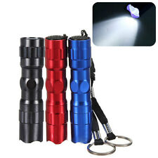 CREE 3W LED Mini Torch Sport Camping Hiking Flashlight Torch Lamp Keychain AA