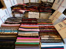 Lot of 22 100% Cashmere Winter 72X12 Long Scarf Assorted Check Plaid Men Women