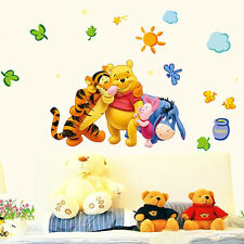 DIY Art Decor Home Winnie The Pooh Kids Room & Baby Nursery Wall Decals Stickers