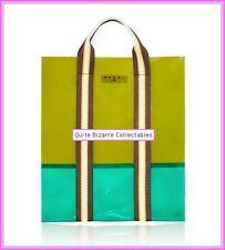 Marni for H&M Green Colour Block Bag New with Tags BNWT
