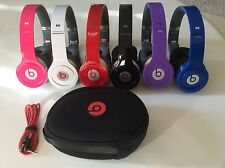 Beats by Dr. Dre Solo HD  Headphones - Black White Red Purple Pink Blue