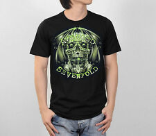 AVENGED SEVENFOLD A7X SKULL EVIL GRAPHIC HEAVY METAL ROCK MUSIC MEN T-SHIRT S-XL