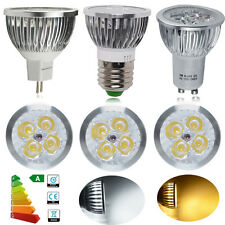 10x GU10 / MR16 / E27 6W LED Bulbs Warm Day White Light Spotlight Downlight Lamp
