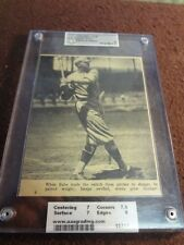 "1948 DELL #4-B BABE RUTH   GRADED- AAA Graded NM 7  15317 ""Pitcher to Slugger"""