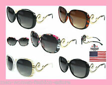 Women's New Trending Fashion Retro Vintage Designer Oversized Sunglasses Glasses