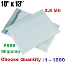 10x13 Poly Mailers Shipping Envelopes Self Sealing Plastic Mailing Bags 1 - 1000