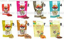 Lot of Organic Dried Natural Health Herbal Tea Fruit or Floral in Bag -8 Flavors