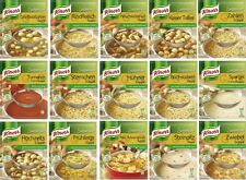 Knorr Germany - Suppenliebe - 4 x Knorr soups shipping free - your choice