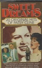 Sweet Dreams 20 Original Hits of Patsy Cline Cassette MCPS Free Shipping