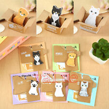 Funny Kitty House It Funny Sticker Post It Bookmark Mark Tab Memo Sticky Notes