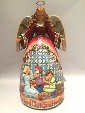 "JIM SHORE ANGEL ""THE JOY OF CHRISTMAS MORNING"" #4005325 MINT"