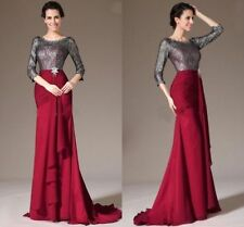 Charming Hot Women Formal Evening Dress Wedding Party Gown Mother Of Bride Dress