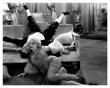 Actress Thelma Todd With Actor Buster Keaton Speak Easily Movie Still Photo