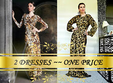 2 DRESSES~ONE PRICE! Dresses by Roberto Cavalli and Just Cavalli! Best offer!