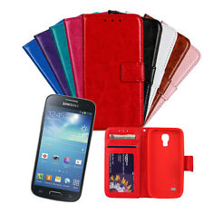 Magnetic Flip PU Leather Card Slot Wallet Cover Cases For Samsung Galaxy S4 mini