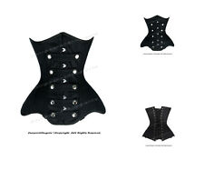 14 Full Steel Boned Heavy Lacing Twill Cotton Underbust Corset #8596(TC)