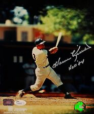 Harmon Killebrew HOF Autographed 8x10 Minnesota Twins Swinging Photo- JSA Auth
