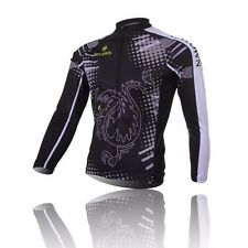 Dragon and tiger Cycling Clothing Bike Bicycle Long sleeve cycling jersey Top