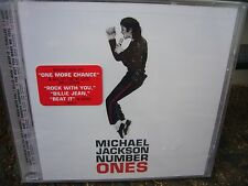 Number Ones by Michael Jackson Brand New CD 18 Songs ~ FACTORY SEALED ~