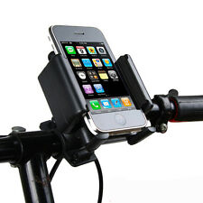 Motorcycle Bike Bicycle Cradle Mount Holder Stand Band for Phones 2015 hot model