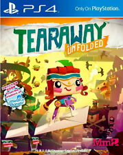 New Sony PlayStation 4 Games Tearaway Unfolded HK Version Chinese/English Subs