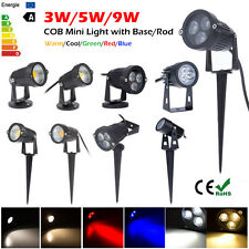 Waterproof 3W 5W 9W Outdoor LED Spotlight Flood Light Yard Garden Path Lamp Bulb